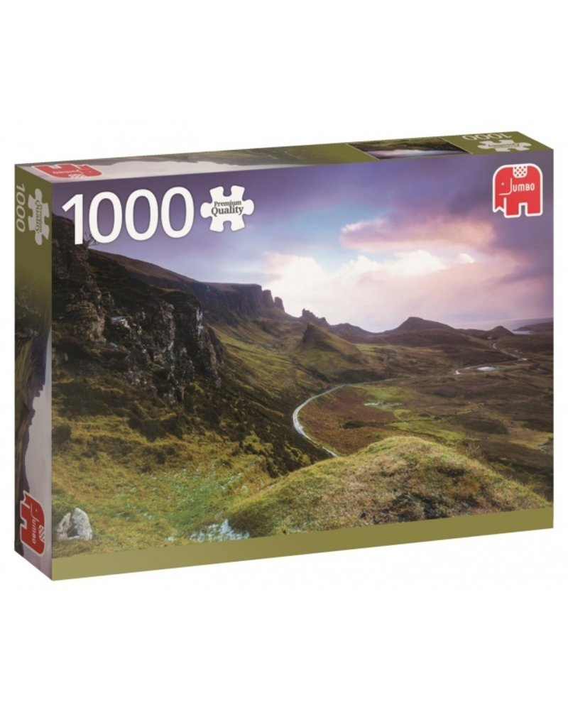 Jumbo PC Trotternish Ridge Scotland