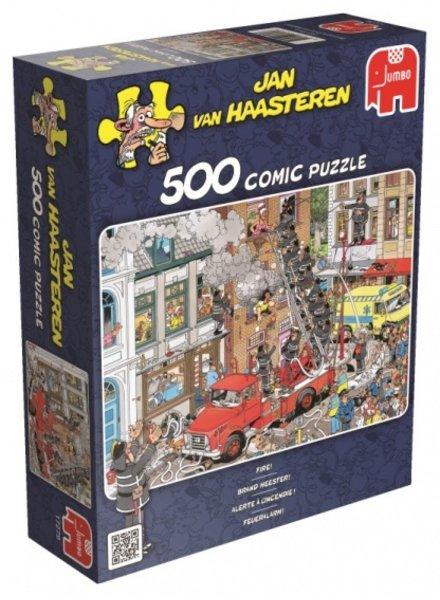 Jan van Haasteren Brand meester! - 500 stukjes
