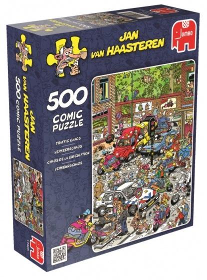 Jan van Haasteren Verkeerschaos - 500 stukjes