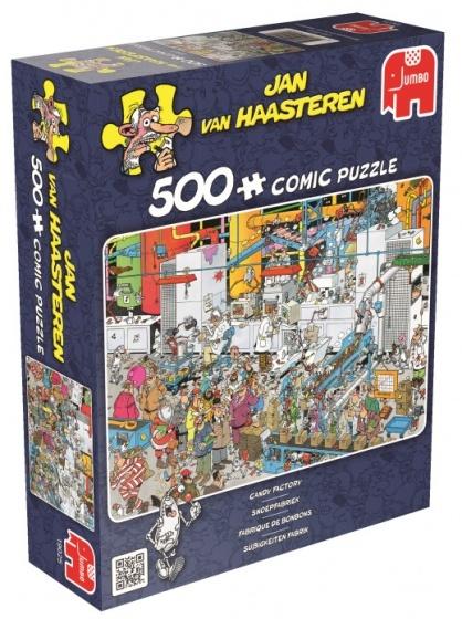 Jan van Haasteren Snoepfabriek - 500 stukjes