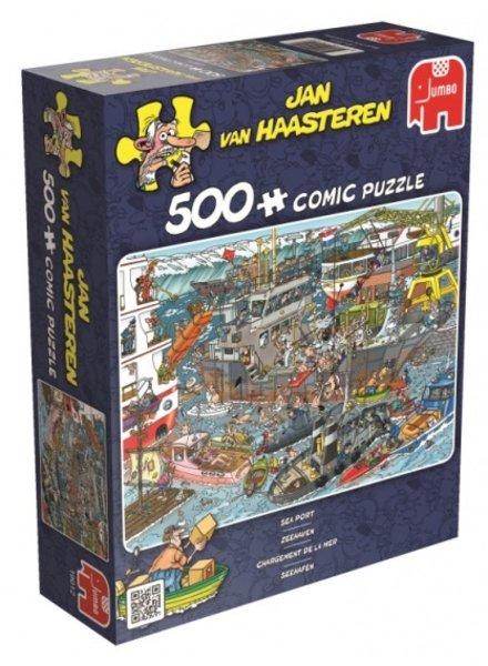 Jan van Haasteren Zeehaven - 500 stukjes