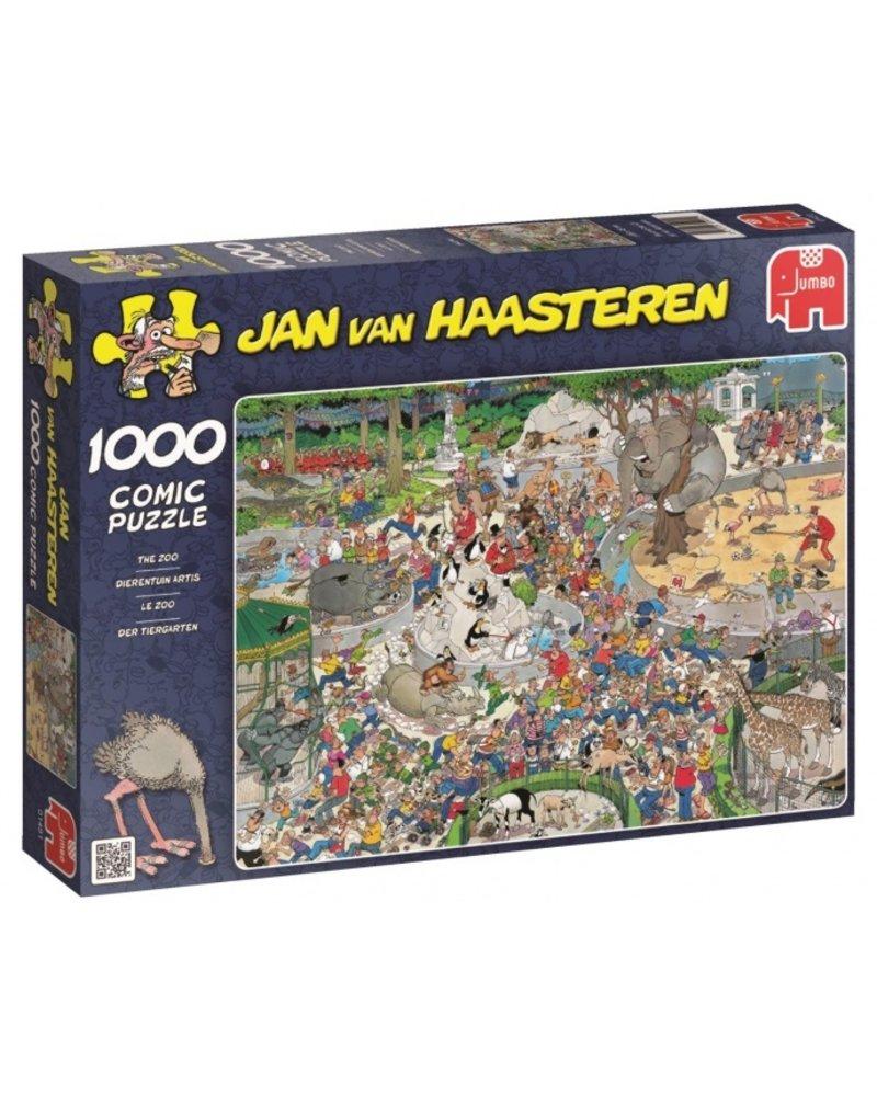 Jan van Haasteren Jan van Haasteren De Dierentuin - 1000 stukjes