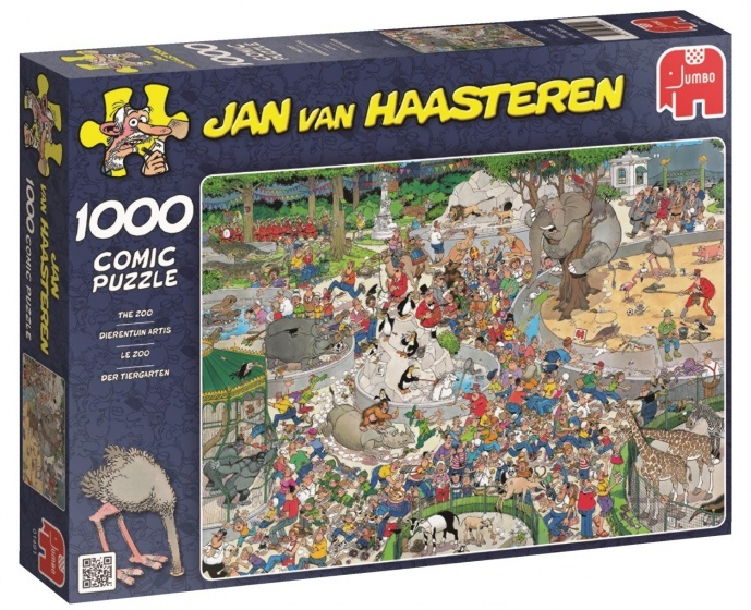 Jan van Haasteren De Dierentuin - 1000 stukjes