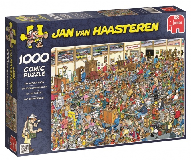 Jan van Haasteren Op Zoek Naar De Schat - 1000 stukjes