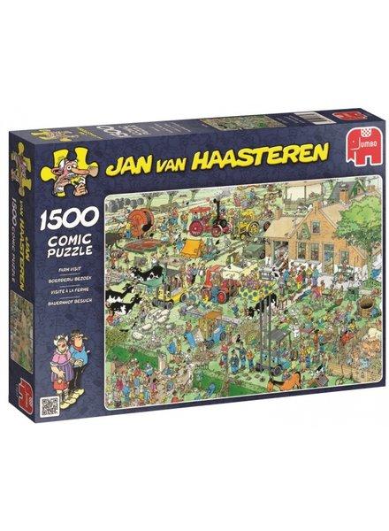 Jan van Haasteren Boerderij Bezoek - 1500 stukjes