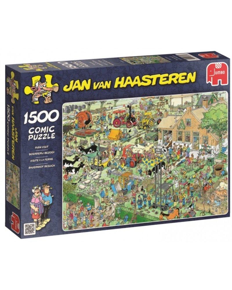 Jan van Haasteren Jan van Haasteren Boerderij Bezoek - 1500 stukjes