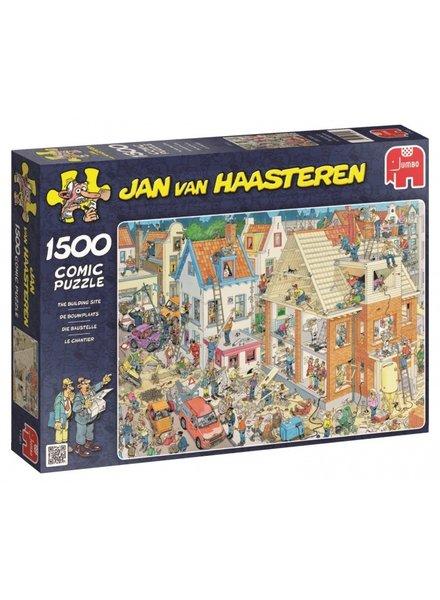 Jan van Haasteren De Bouwplaats - 1500 stukjes