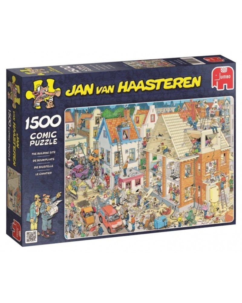 Jan van Haasteren Jan van Haasteren De Bouwplaats - 1500 stukjes
