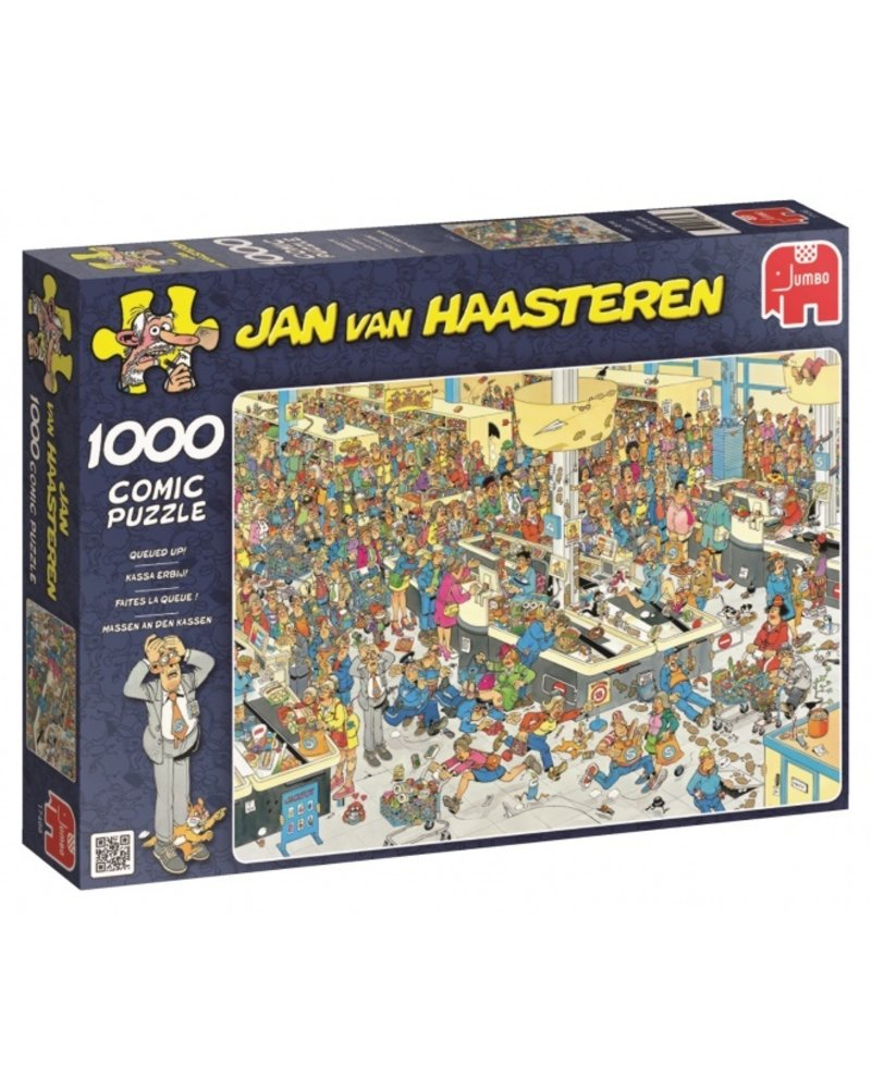 Jan van Haasteren Jan van Haasteren Kassa Erbij!  - 1000 stukjes