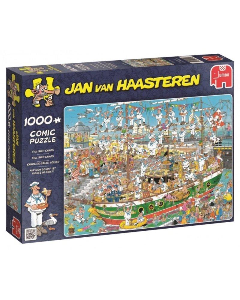 Jan van Haasteren Jan van Haasteren Tall Ship Chaos - 1000 stukjes