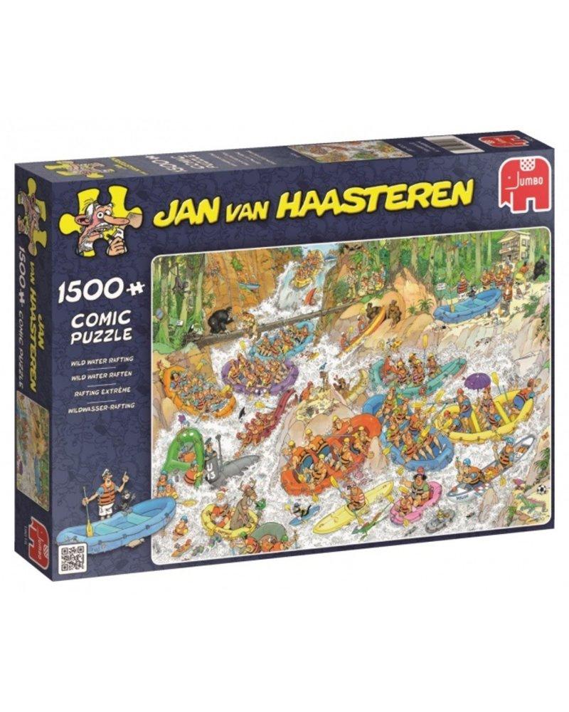 Jan van Haasteren Jan van Haasteren Wild Water Raften - 1500 stukjes