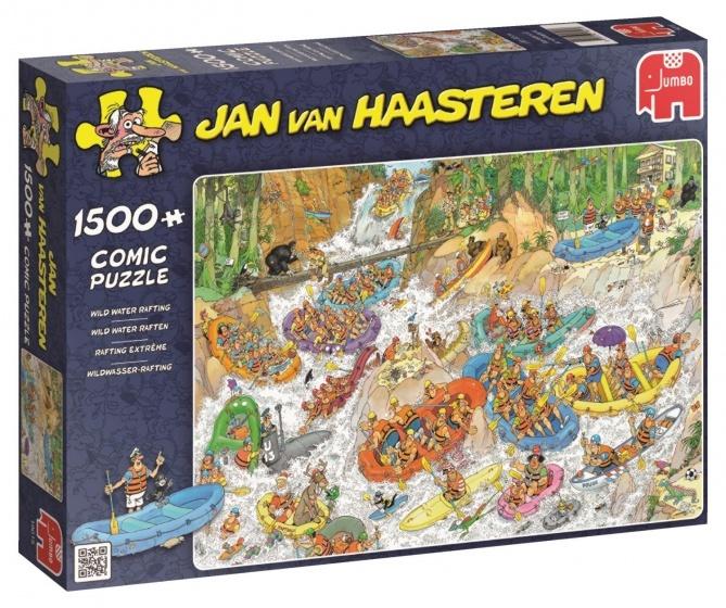 Jan van Haasteren Wild Water Raften - 1500 stukjes