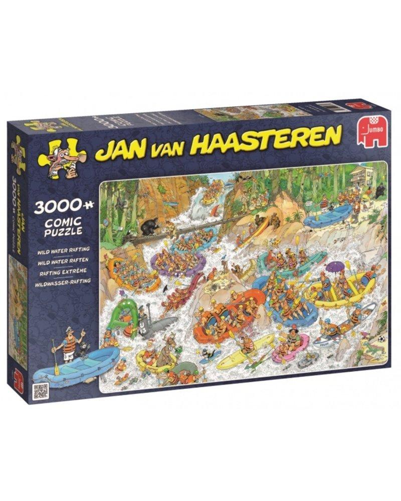 Jan van Haasteren Jan van Haasteren Wild Water Raften - 3000 stukjes