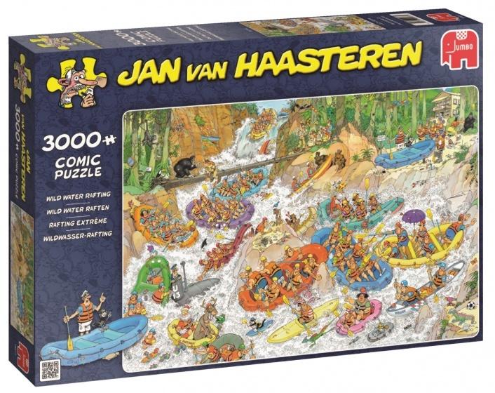 Jan van Haasteren Wild Water Raften - 3000 stukjes