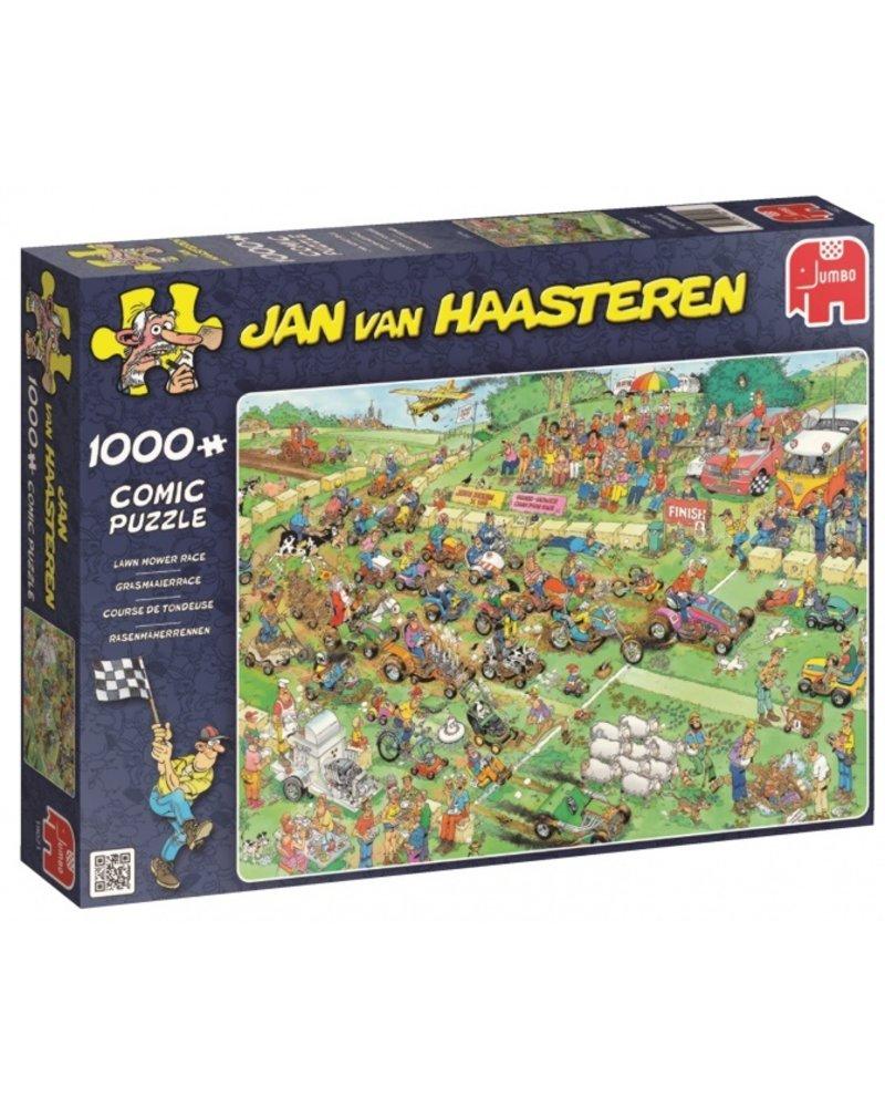 Jan van Haasteren Jan van Haasteren Grasmaaierrace - 1000 stukjes