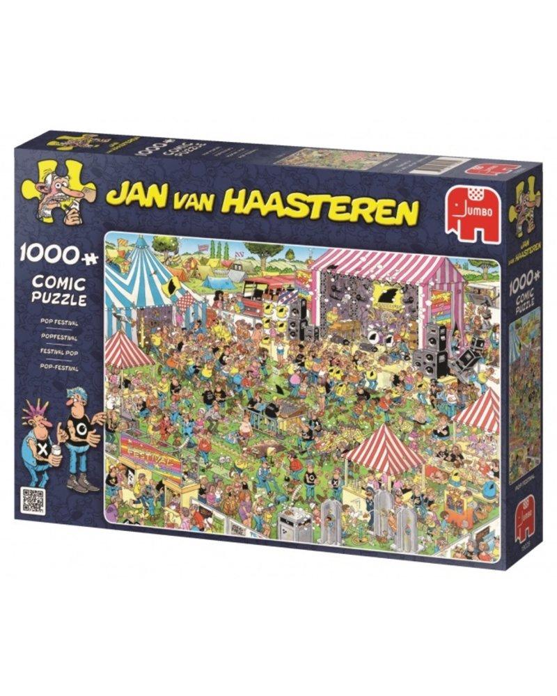 Jan van Haasteren Jan van Haasteren Popfestival - 1000 stukjes