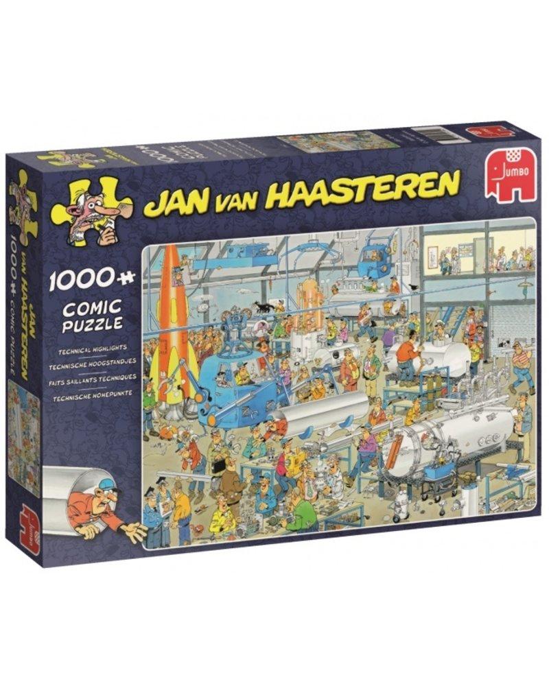 Jan van Haasteren Jan van Haasteren Technische Hoogstandjes - 1000 stukjes