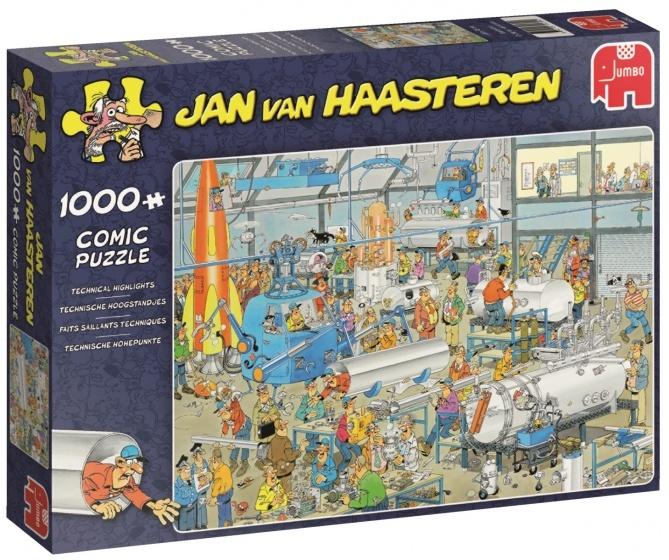 Jan van Haasteren Technische Hoogstandjes - 1000 stukjes