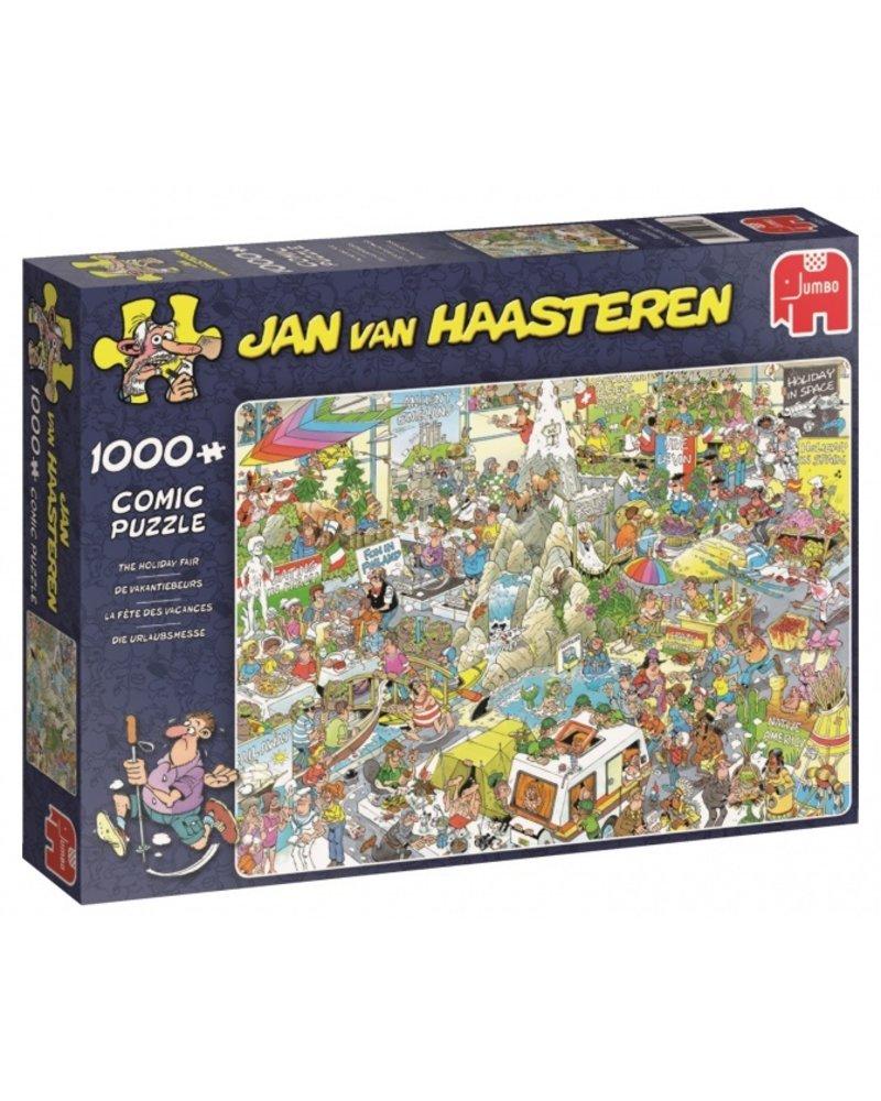 Jan van Haasteren Jan van Haasteren De Vakantiebeurs - 1000 stukjes