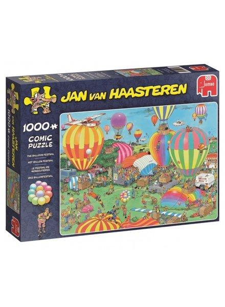 Jan van Haasteren Het Ballon Festival - 1000 stukjes
