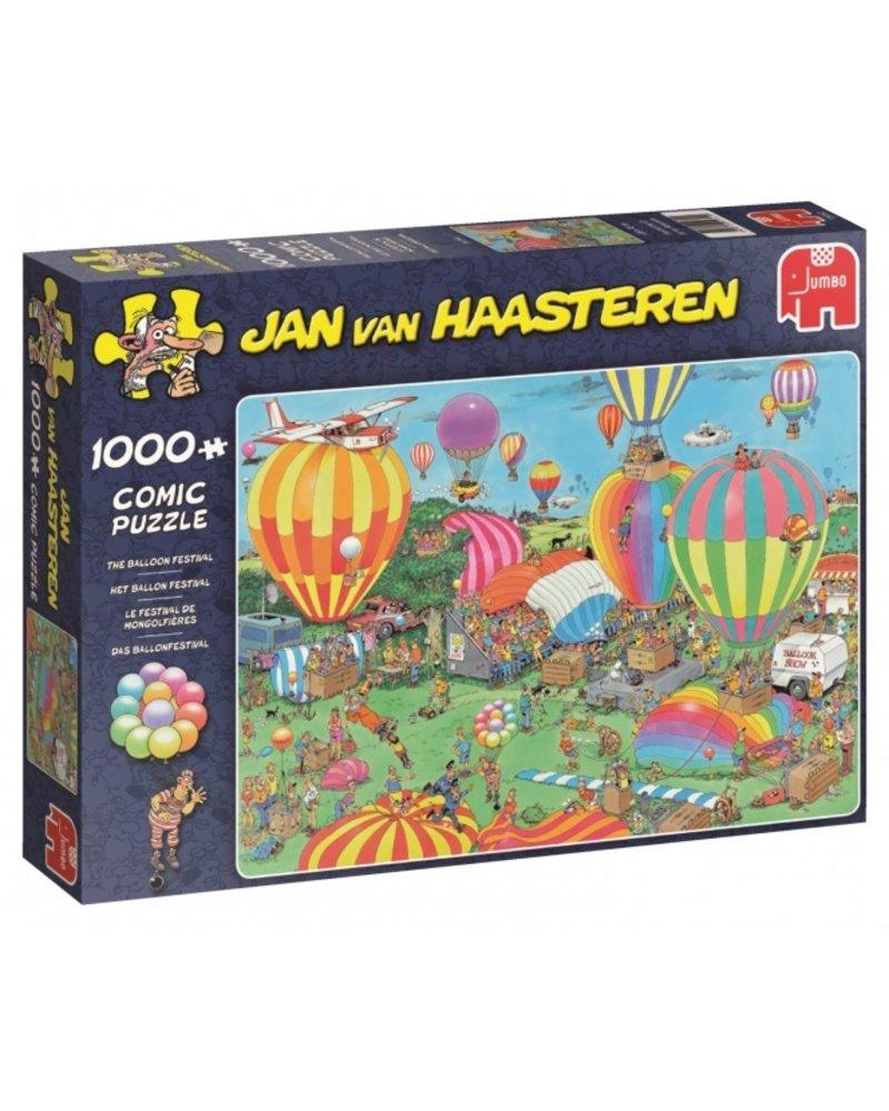 Jan van Haasteren Jan van Haasteren Het Ballon Festival - 1000 stukjes