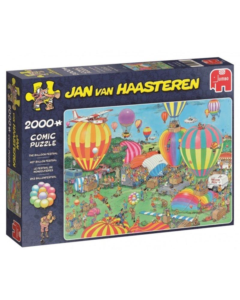 Jan van Haasteren Jan van Haasteren Het Ballon Festival -  2000 stukjes