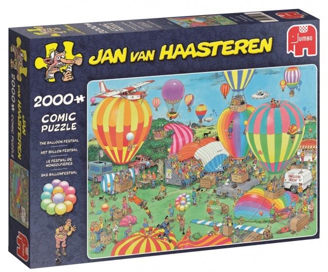 Jan van Haasteren Het Ballon Festival - 2000 stukjes