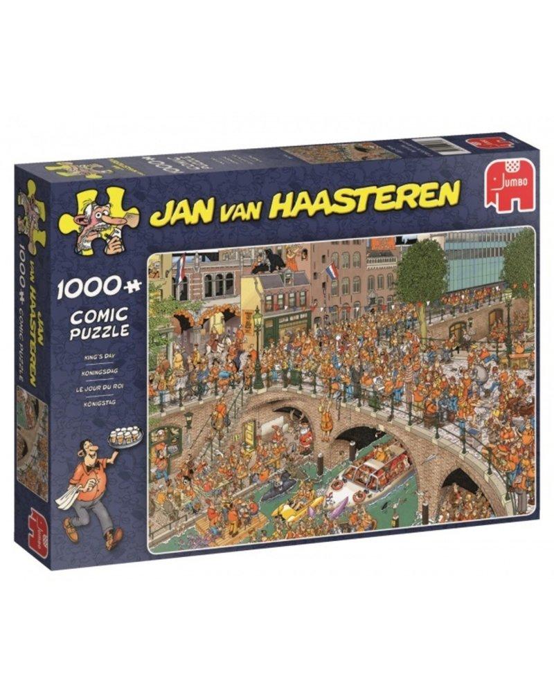 Jan van Haasteren Jan van Haasteren Koningsdag - 1000 stukjes