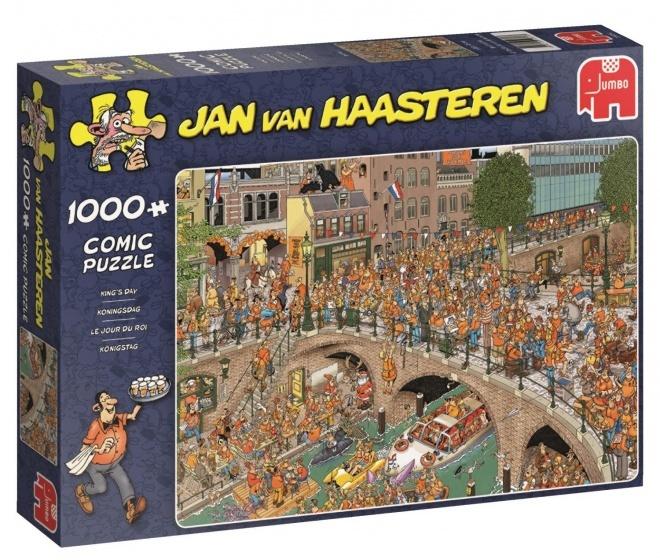 Jan van Haasteren Koningsdag - 1000 stukjes