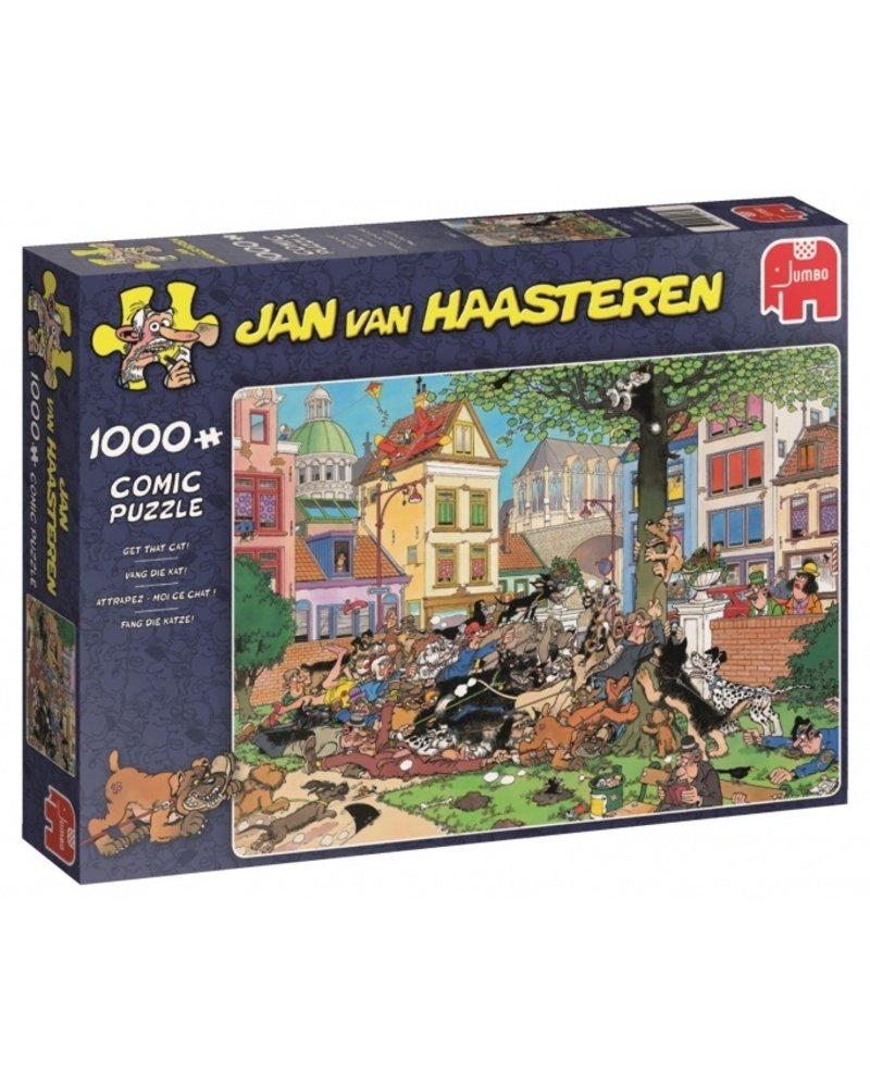 Jan van Haasteren Jan van Haasteren Vang die Kat! - 1000 stukjes