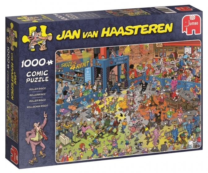 Jan van Haasteren Rollerdisco - 1000 stukjes