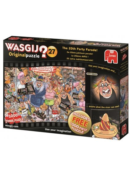 Jumbo Wasgij Original De Jubileum Parade! 2 x 1000 stukjes