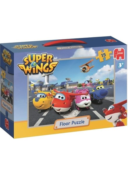 Jumbo Vloerpuzzel Super Wings 15 stukjes