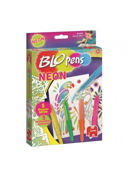 Jumbo Blopens Neon 10-delig