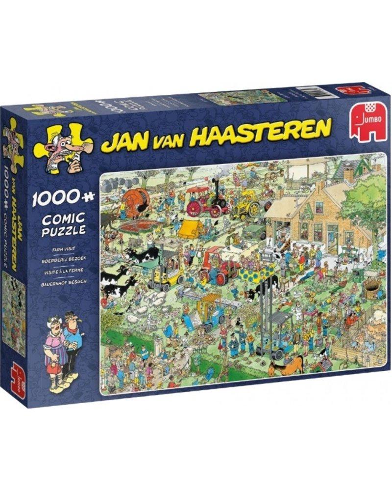 Jan van Haasteren Jan van Haasteren Boerderij Bezoek 1000 stukjes