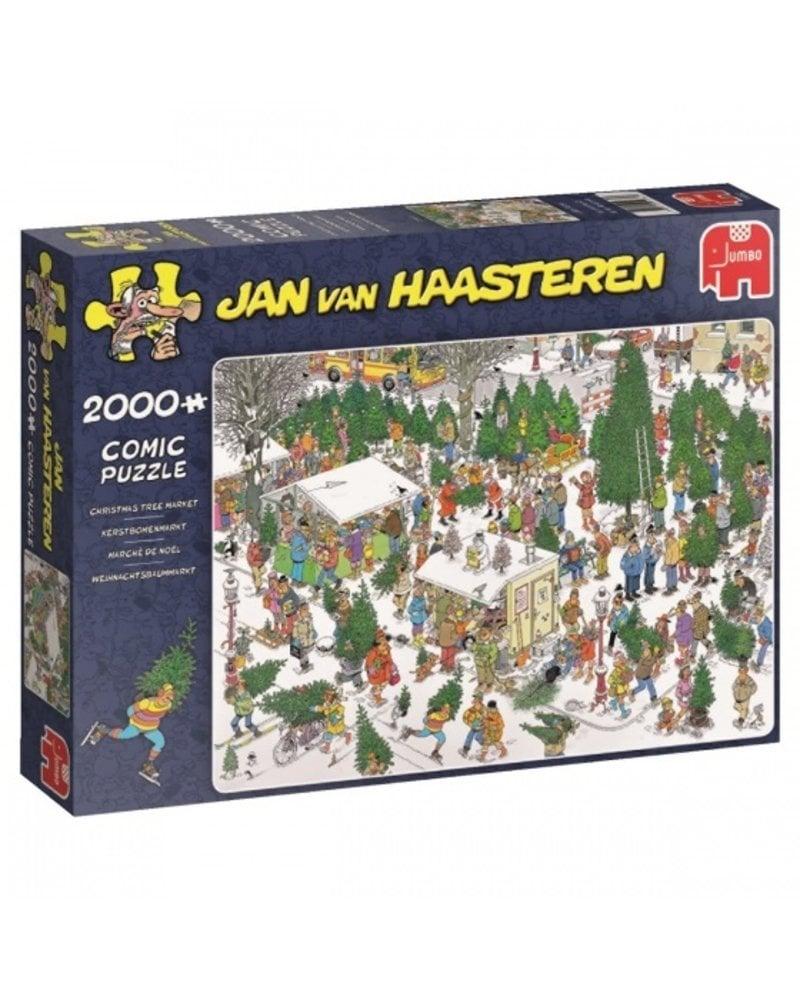 Jan van Haasteren Jan van Haasteren Kerstbomenmarkt - 2000 stukjes