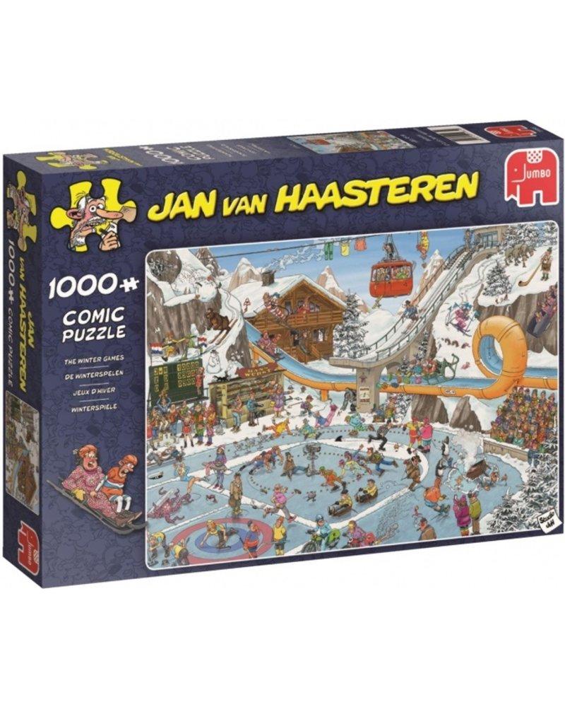 Jan van Haasteren Jan van Haasteren De Winterspelen - 1000 stukjes