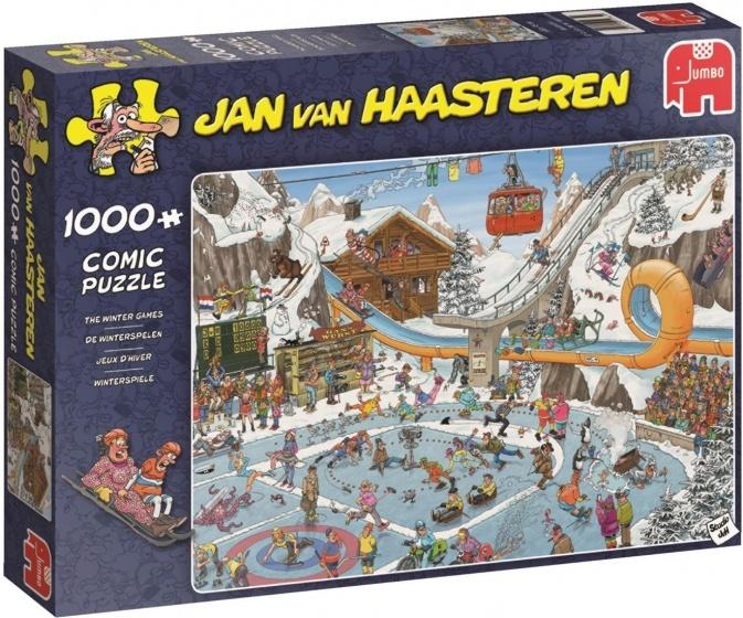 Jan van Haasteren De Winterspelen - 1000 stukjes