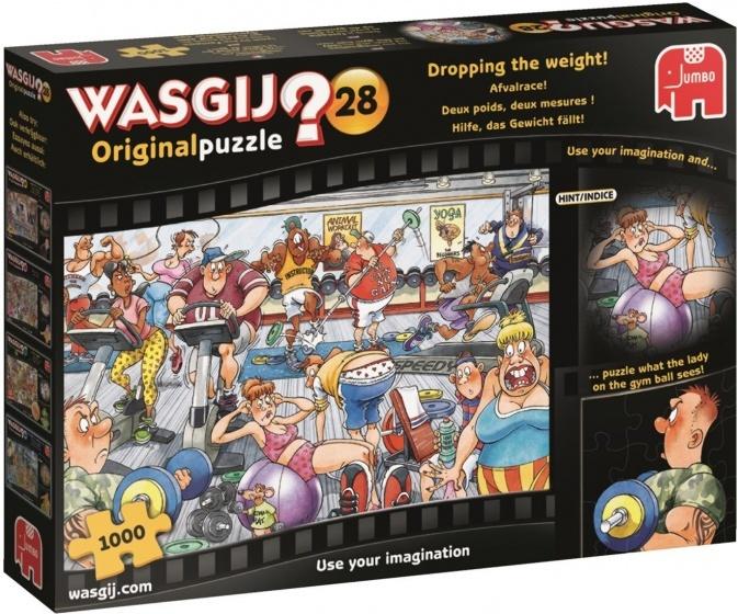 Jumbo Wasgij Original 28 Afvalrace - 1000 stukjes