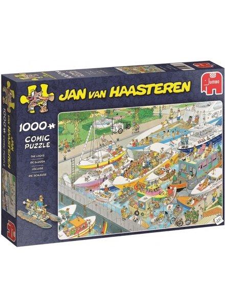 Jan van Haasteren De Sluizen - 1000 stukjes