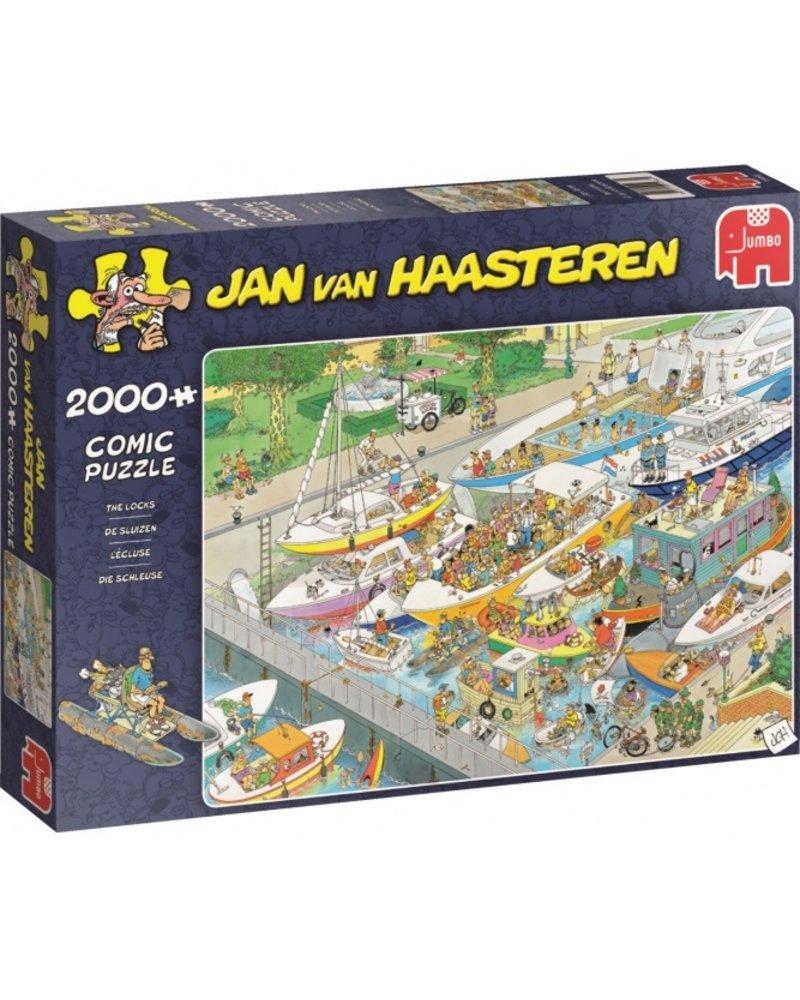 Jan van Haasteren Jan van Haasteren De Sluizen - 2000 stukjes