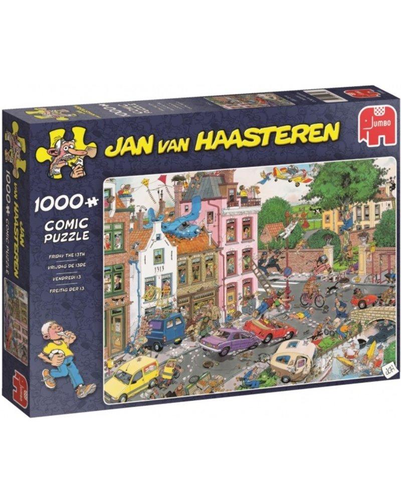 Jan van Haasteren Jan van Haasteren Vrijdag de 13e - 1000 stukjes