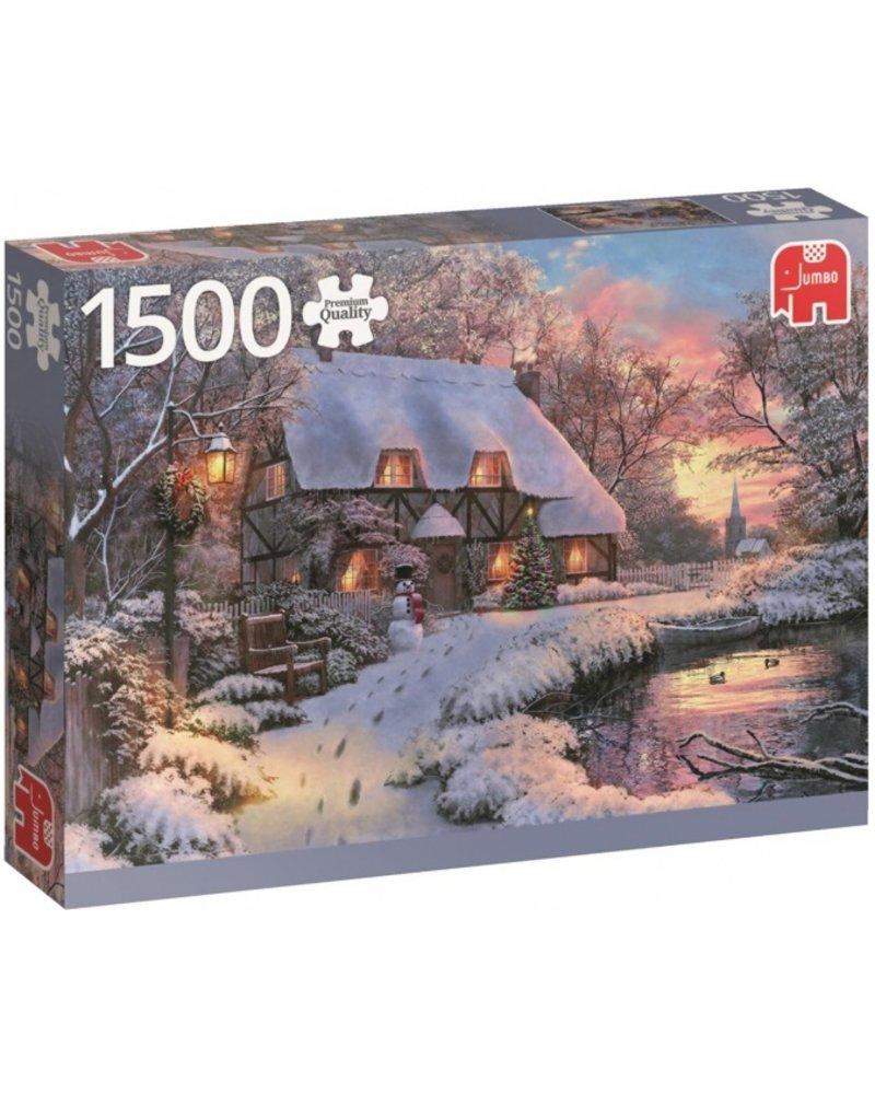 Jumbo Winter Cottage - 1500 stukjes