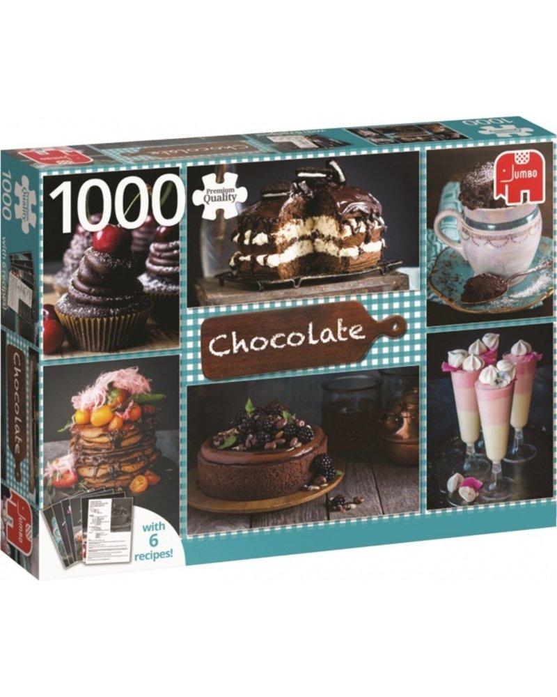 Jumbo Chocolade met zes recepten - 1000 stukjes