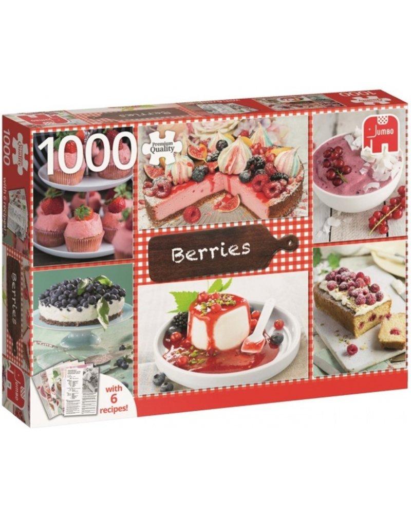Jumbo Bessen met zes recepten - 1000 stukjes