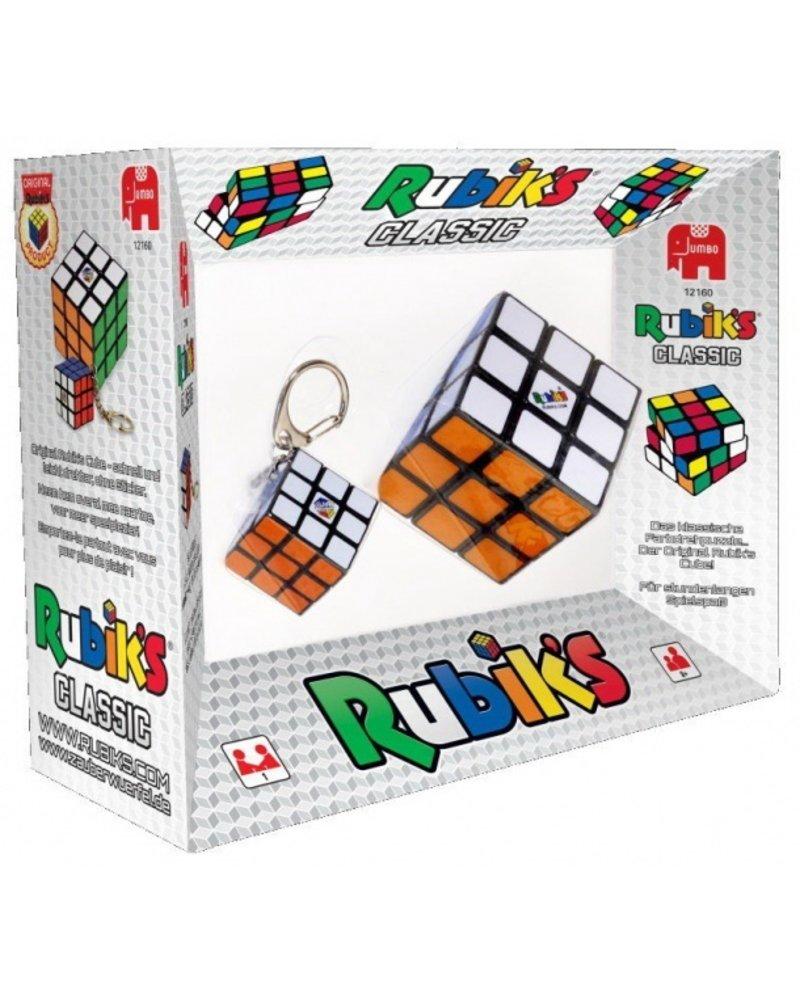 Jumbo Rubik's met sleutelhanger