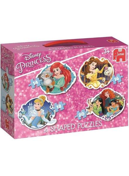 Jumbo Disney Princess 4 in1 puzzel (14/16/18/20 stukjes)
