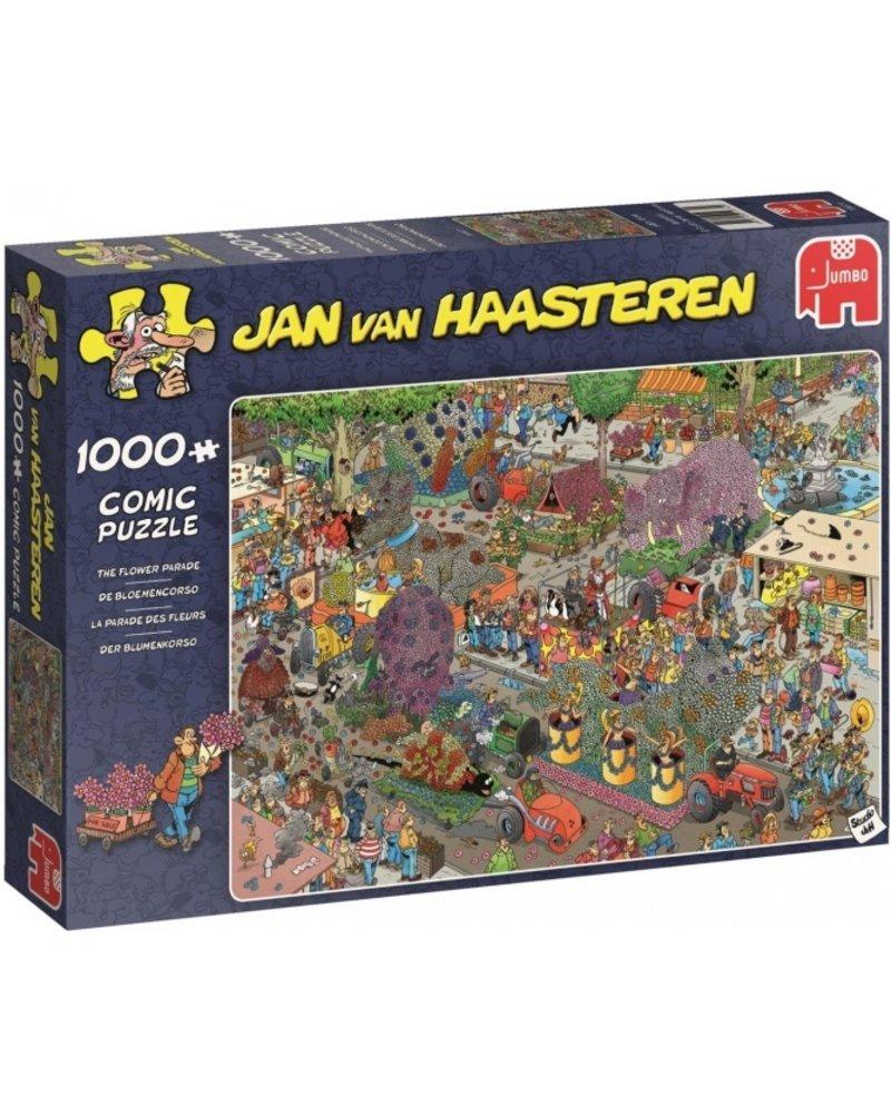 Jan van Haasteren Jan van Haasteren Flower Parade - 1000 stukjes
