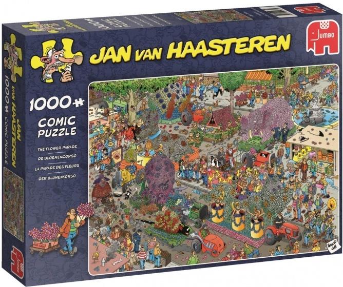 Jan van Haasteren Flower Parade - 1000 stukjes