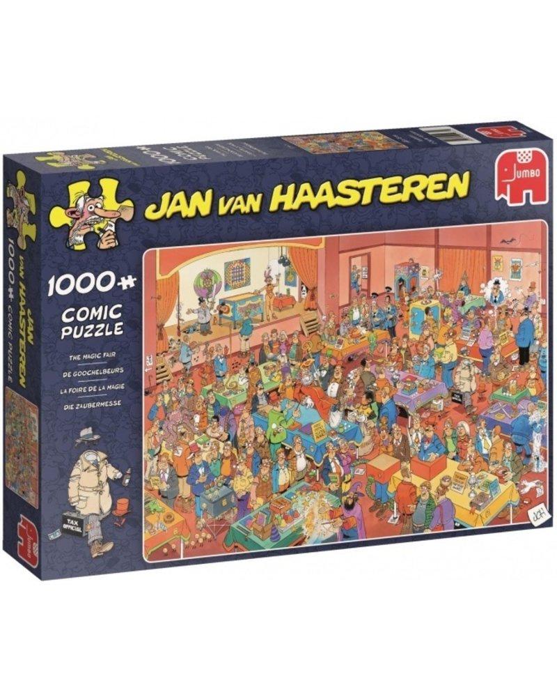 Jan van Haasteren Jan van Haasteren De Goochelbeurs - 1000 stukjes